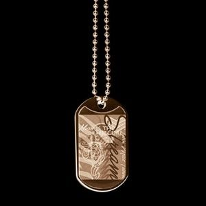 Jewelry - Gold dog tags